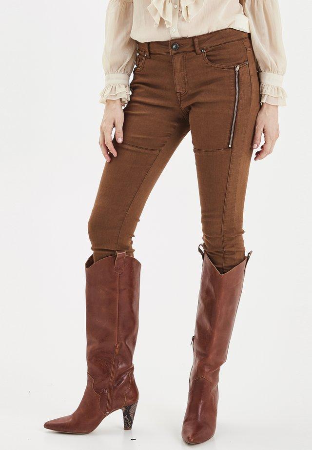 PZMOLLY - Jeans Skinny Fit - bison