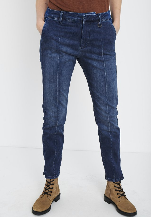 PZCLARA - Jeans slim fit - dark blue denim