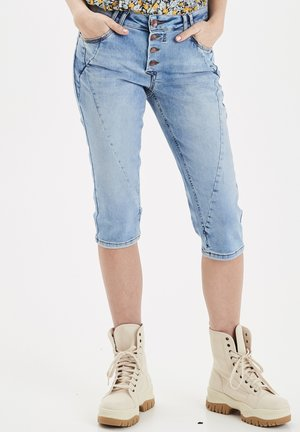 PZROSITA - Jeans Short / cowboy shorts - light blue denim