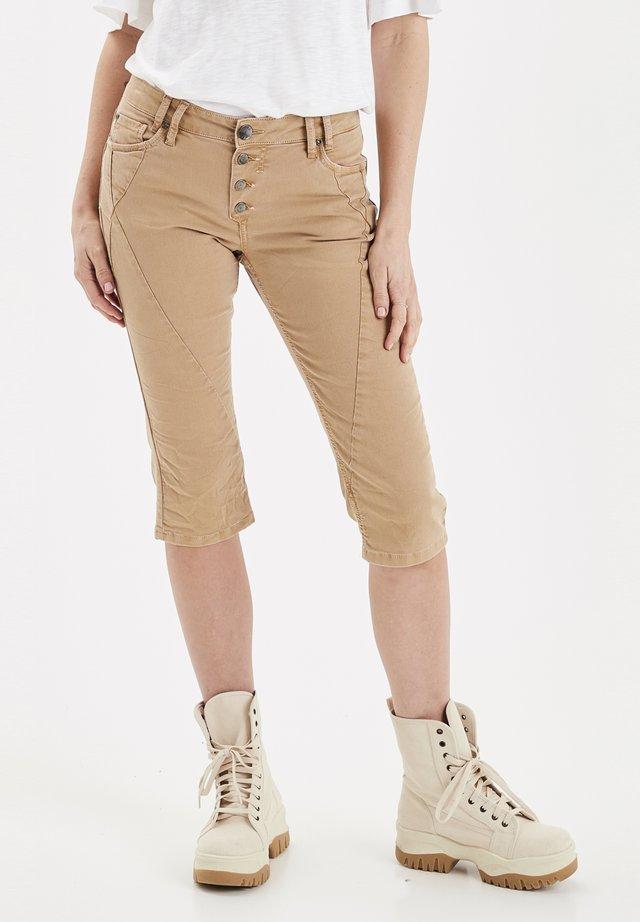 PZROSITA  - Szorty jeansowe - tannin