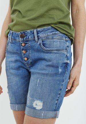 PZMARY  - Jeans Short / cowboy shorts - light blue denim