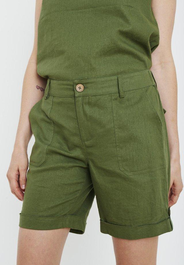 PZBIANCA  - Shorts - olivine