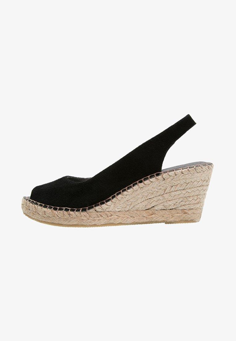 Pavement - DOT - Peep toes - black