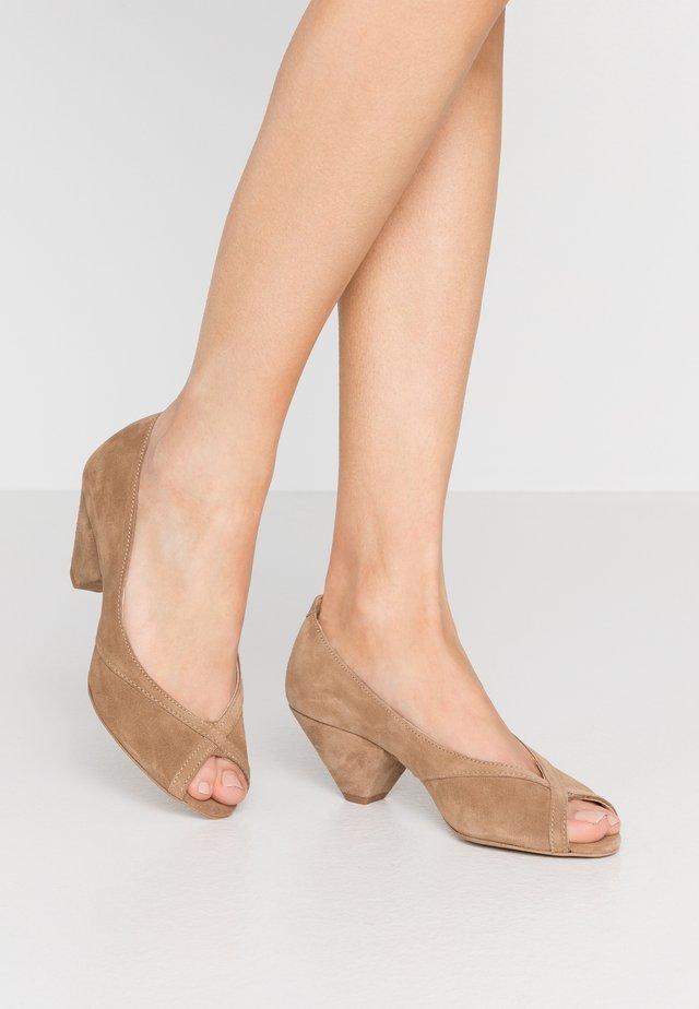 ZOEY - Peep toes - mole