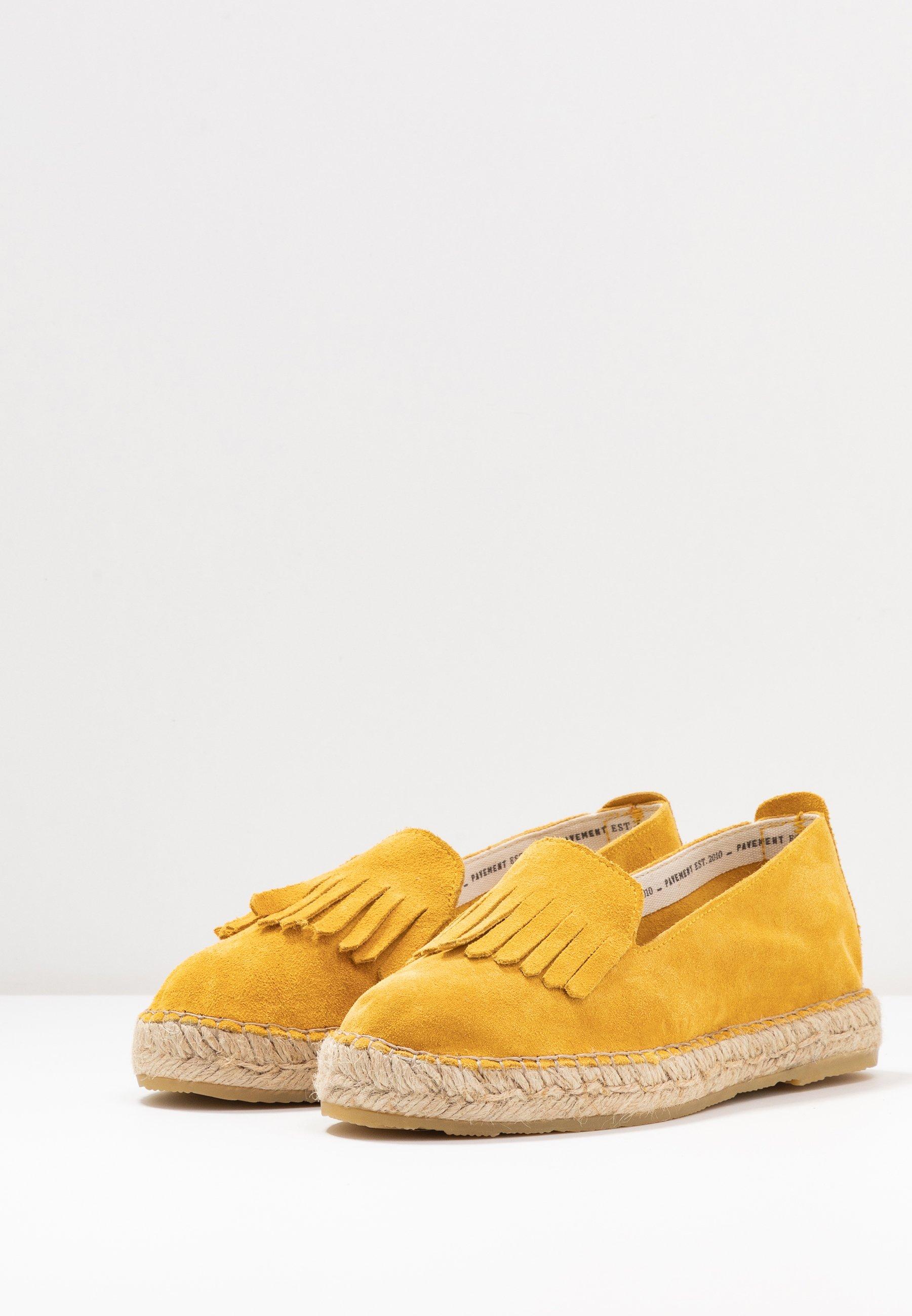Pavement TILDE - Espadryle - yellow