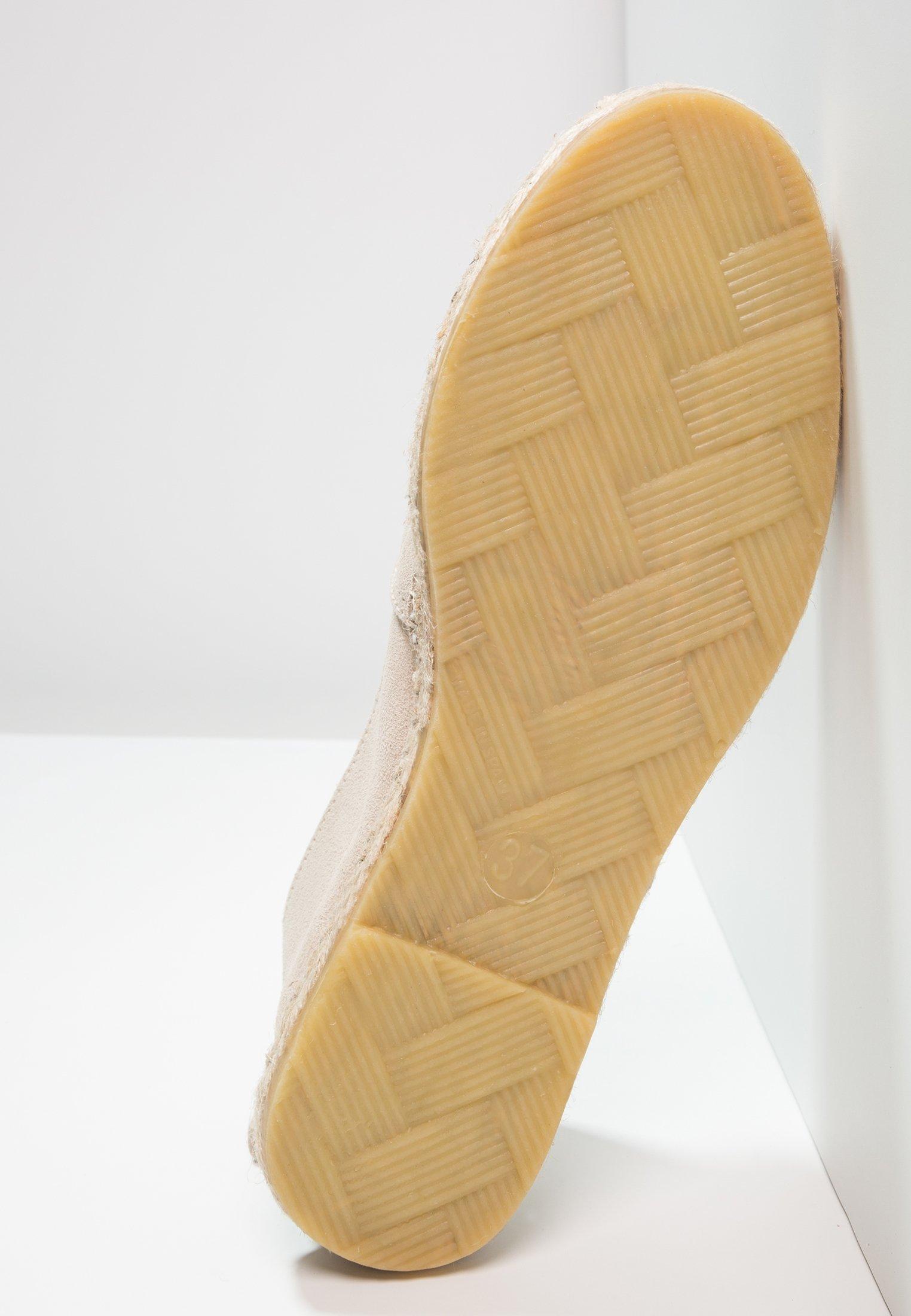 Pavement NANNA - Espadrillas beige/black