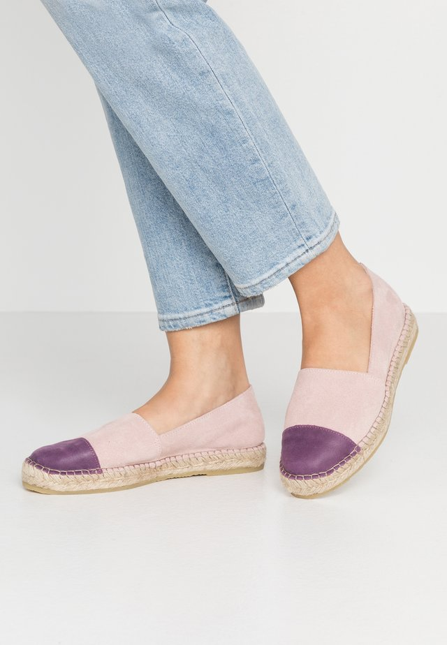 NANNA - Espadrilles - rose/purple