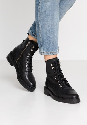 CHARLEY - Lace-up ankle boots - black