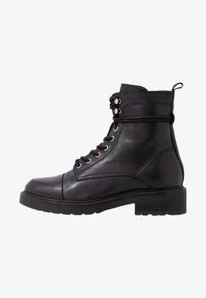 CHARLEY - Botines con cordones - black