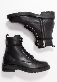 Pavement - CHARLEY - Stivaletti stringati - black - 3