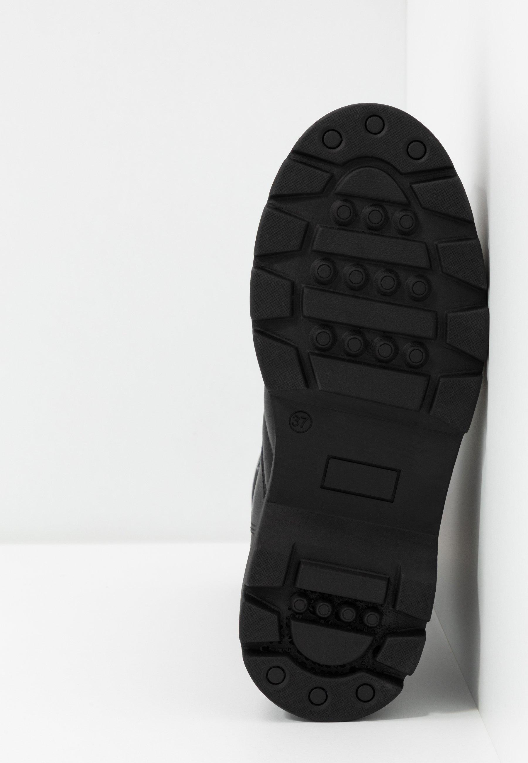 Pavement FLORA - Bottes à plateau - black