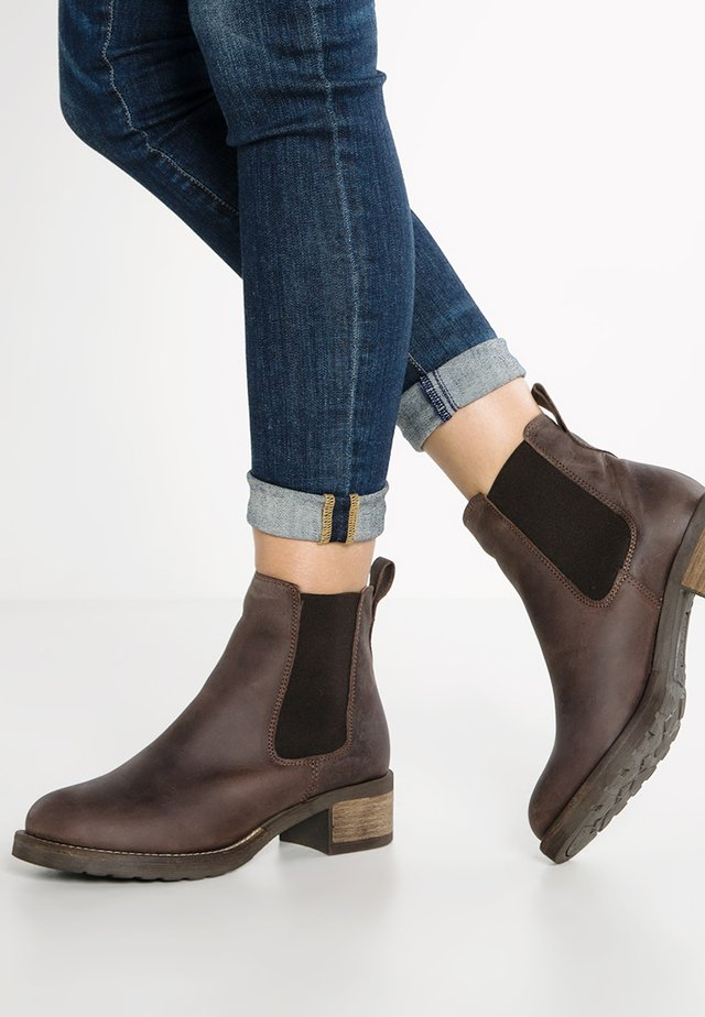 CHRISTINA  - Classic ankle boots - brown