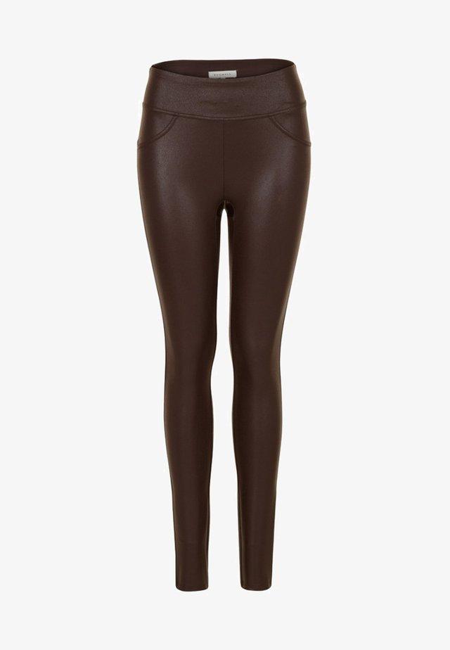 PEGGI - Legging - chocolate brown