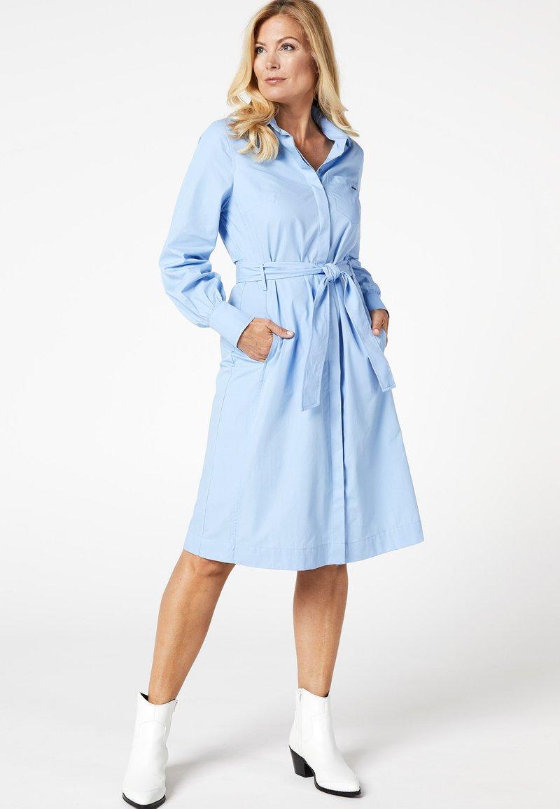 Promiss - APPAREL  - Shirt dress - blue