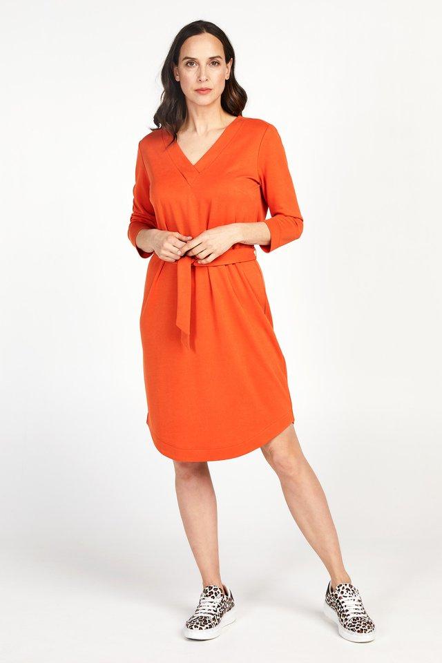 DUPRIADE - Korte jurk - orange