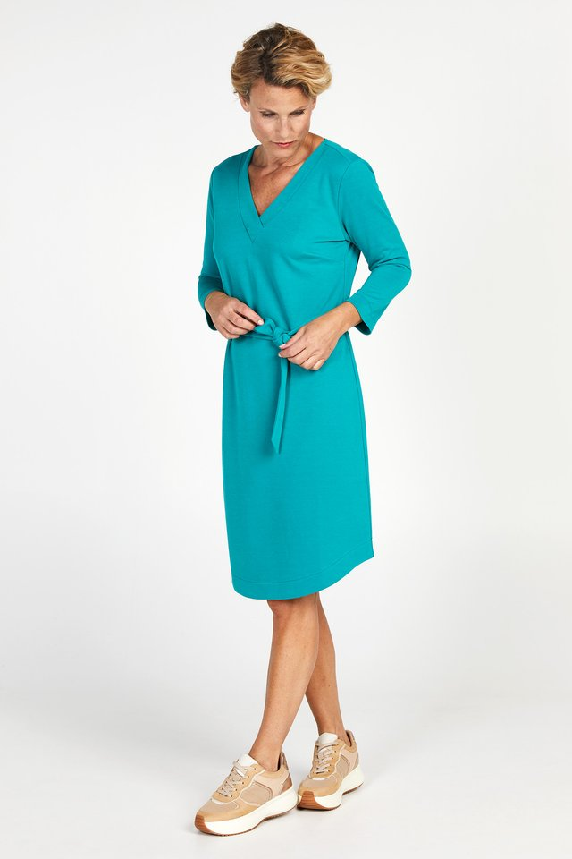 DUPRIADE - Korte jurk - emerald