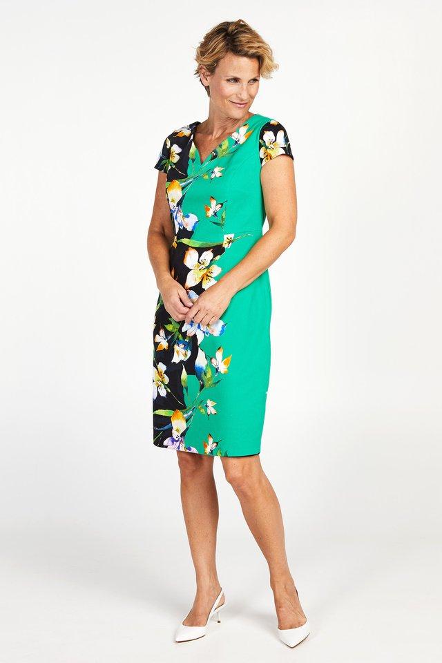 DARINELLI - Korte jurk - multi-coloured