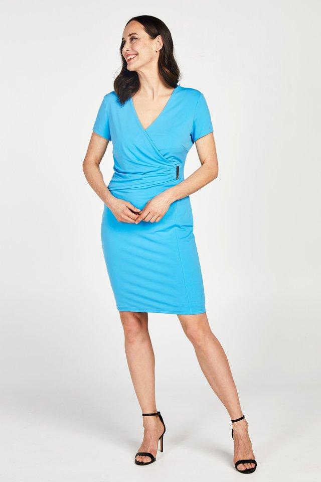 PROMISS APPAREL DRESS DOROMY SHRT SLV SS20 - Etui-jurk - horizon blue