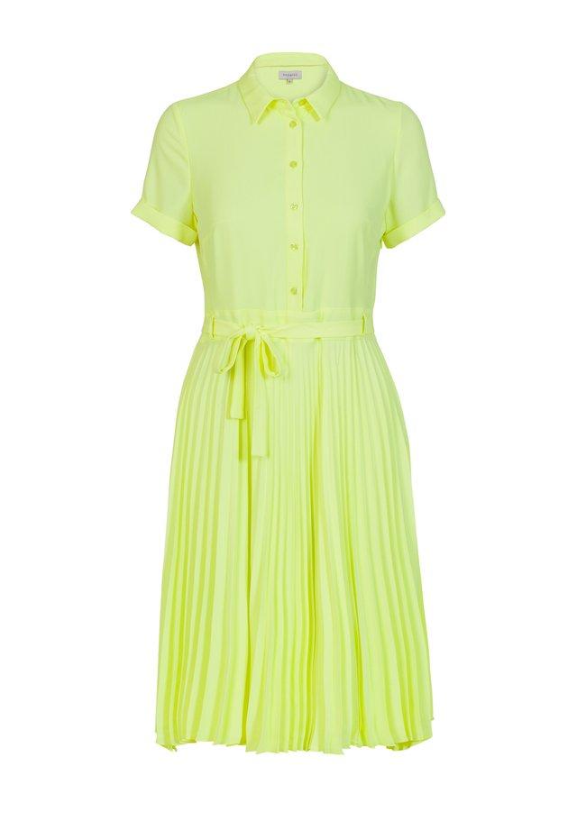 DYLANA FLUID - Korte jurk - neon yellow