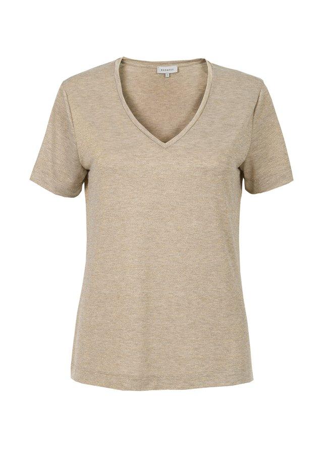 T-shirt basic - gold