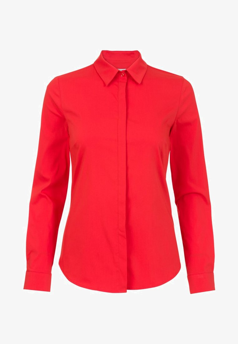Promiss - Button-down blouse - red