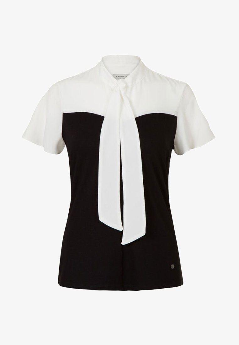 Promiss - TYLE S  - Blouse - black/white