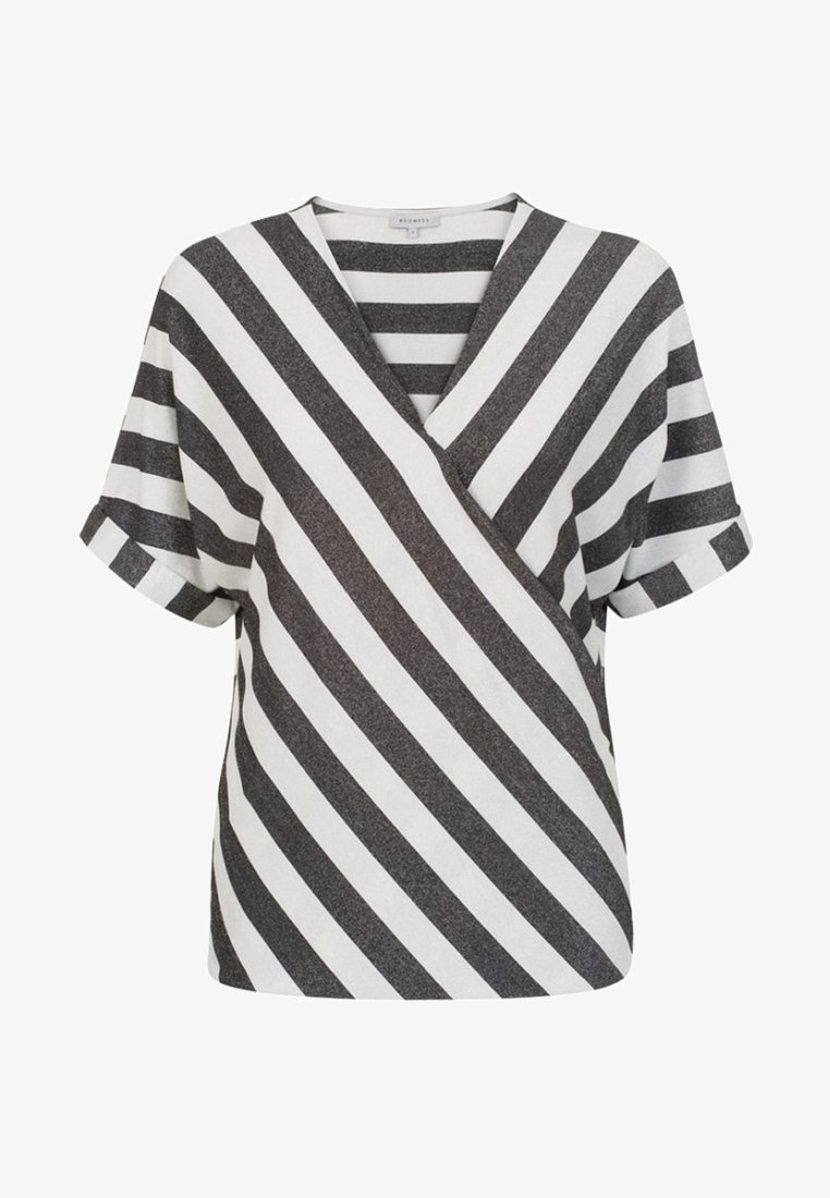 Promiss - TUPRELLA  - Blouse - black/white