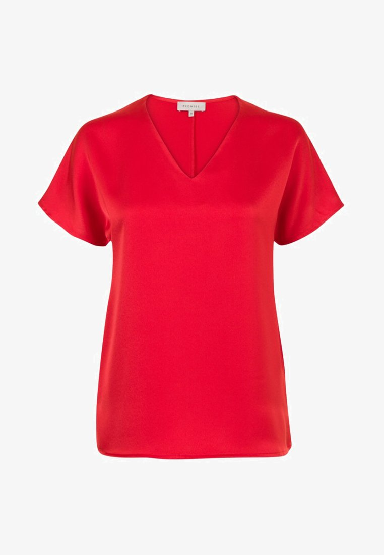 Promiss - Basic T-shirt - red