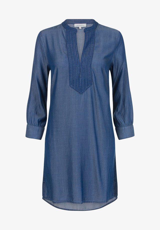 WOVEN TANZY TENCEL - Korte jurk - dark blue