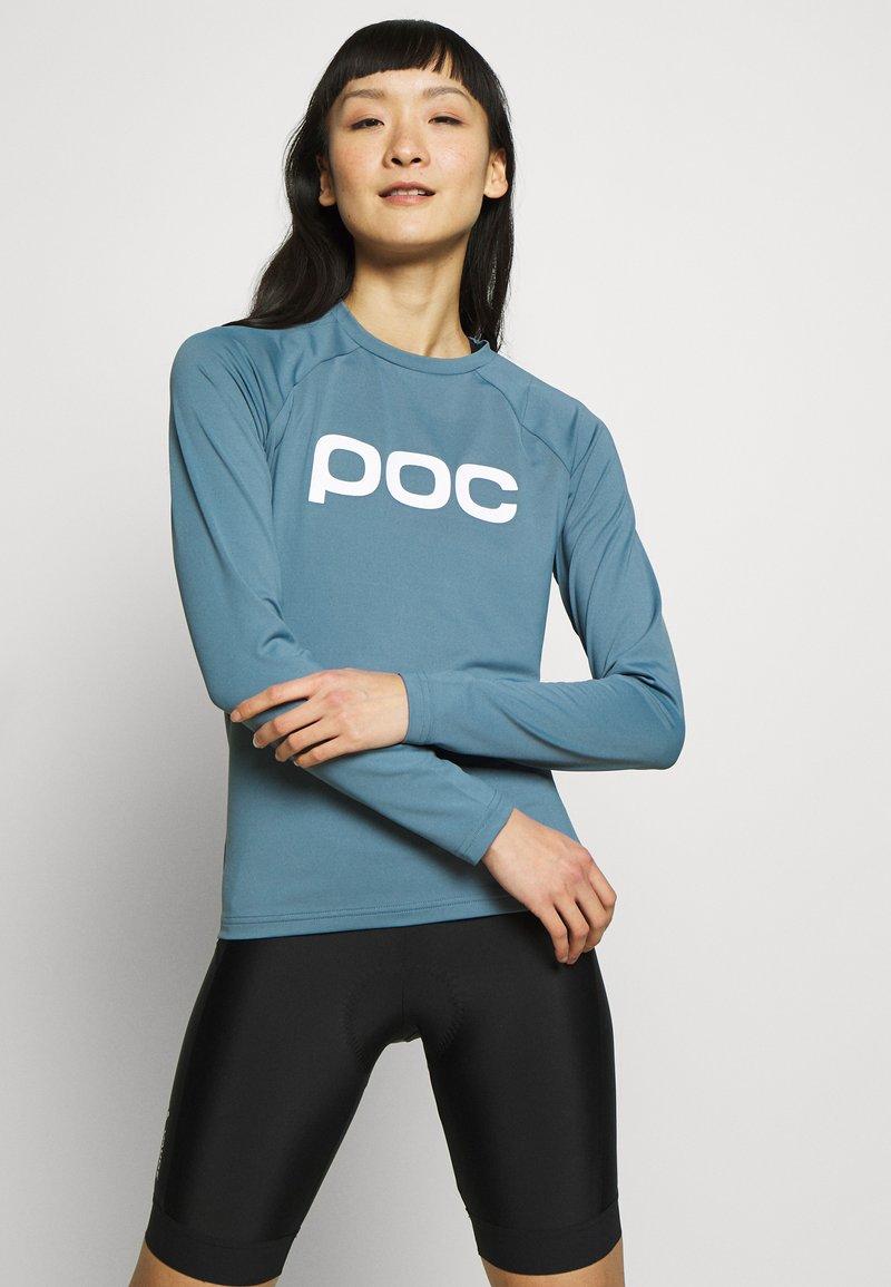 POC - ESSENTIAL  - Langarmshirt - calcite blue