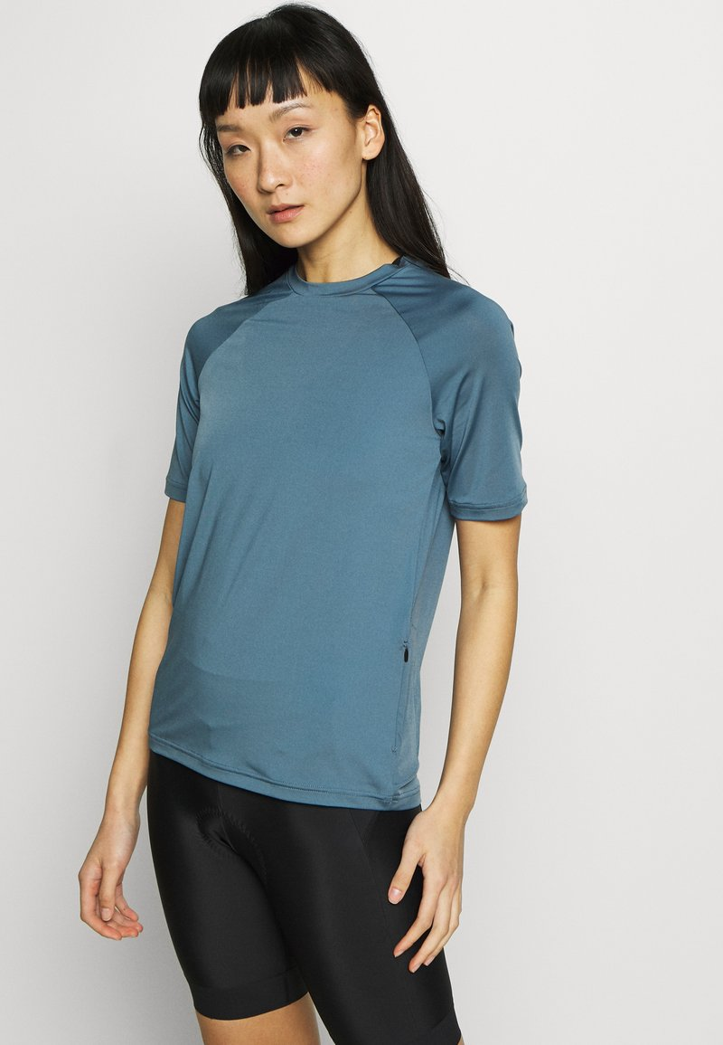 POC - ESSENTIAL TEE - T-Shirt print - calcite blue