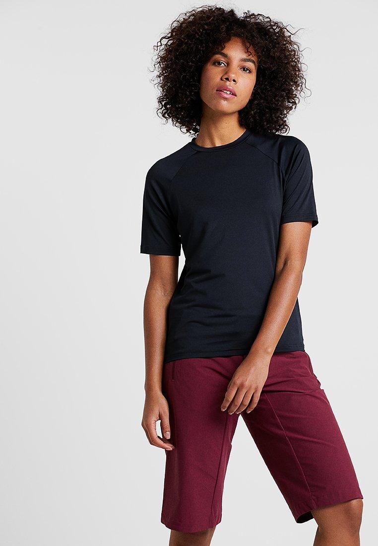 POC - ESSENTIAL TEE - T-shirts med print - uranium black