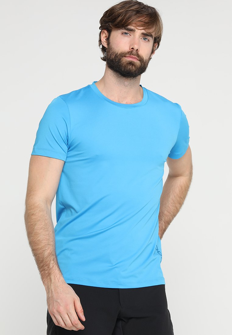 POC - RESISTANCE ENDURO LIGHT TEE - T-Shirt basic - furfural blue