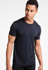 POC - RESISTANCE ENDURO LIGHT TEE - T-Shirt basic - carbon black - 0