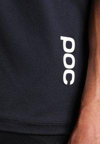 POC - RESISTANCE ENDURO LIGHT TEE - T-Shirt basic - carbon black - 4