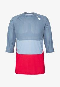 POC - ESSENTIAL ENDURO LIGHT - T-Shirt print - calcite multi blue - 5