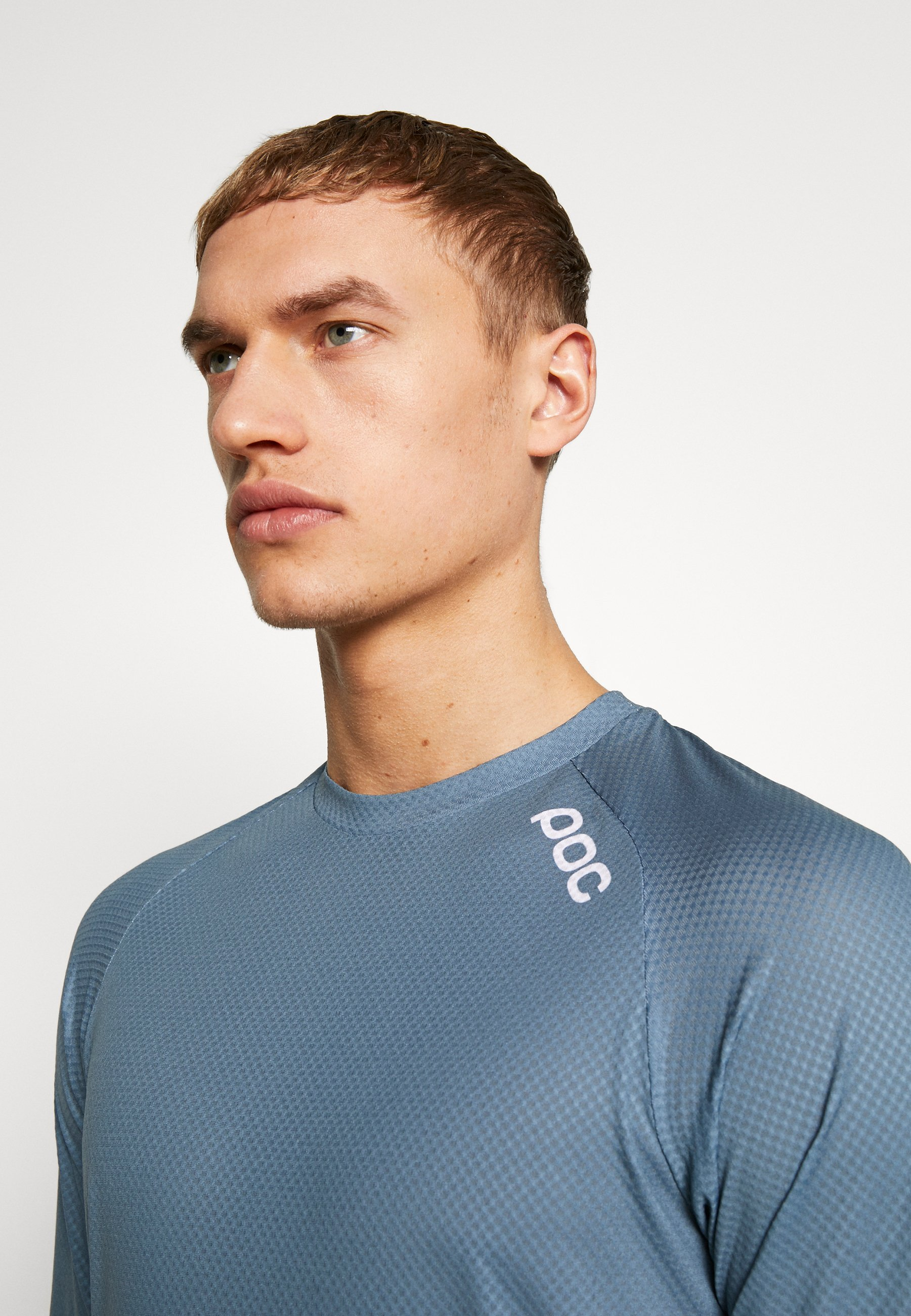 Poc Essential Enduro Light - T-shirt Med Print Calcite Multi Blue