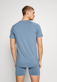 POC - ESSENTIAL ENDURO TEE - T-Shirt print - calcite blue - 2