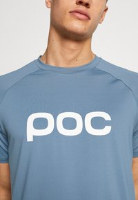 POC - ESSENTIAL ENDURO TEE - T-Shirt print - calcite blue - 5