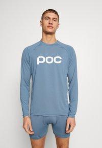 POC - ESSENTIAL ENDURO  - Long sleeved top - calcite blue - 0