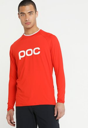 ESSENTIAL ENDURO  - Langarmshirt - prismane red