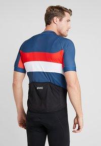 POC - ESSENTIAL ROAD LOGO  - T-Shirt print - multi/red - 3