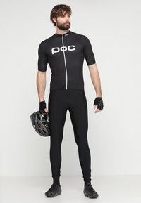 POC - ESSENTIAL ROAD LOGO  - T-Shirt print - uranium black - 1