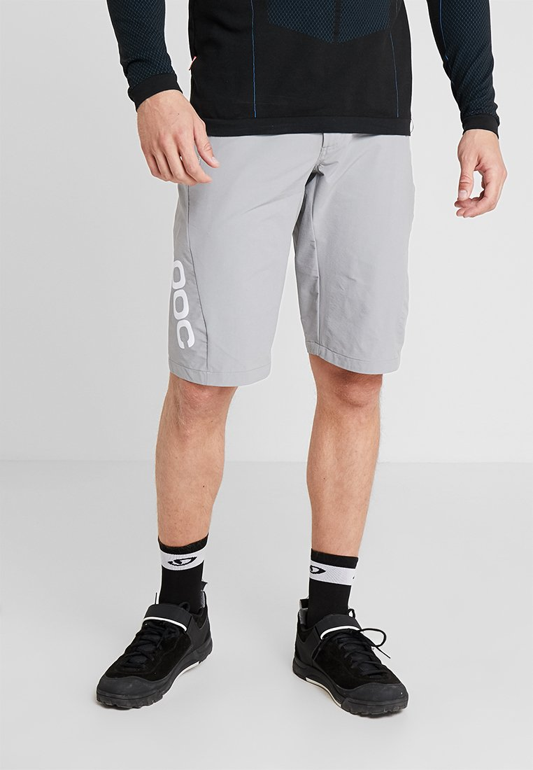 POC - ESSENTIAL ENDURO SHORTS - kurze Sporthose - pegasi grey