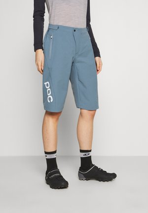 ESSENTIAL ENDURO SHORTS - Sports shorts - calcite blue