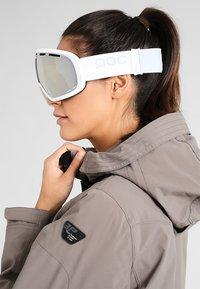 POC - FOVEA - Lyžařské brýle - hydrogen white - 1