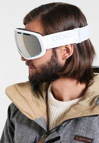 POC - FOVEA - Lyžařské brýle - hydrogen white - 0