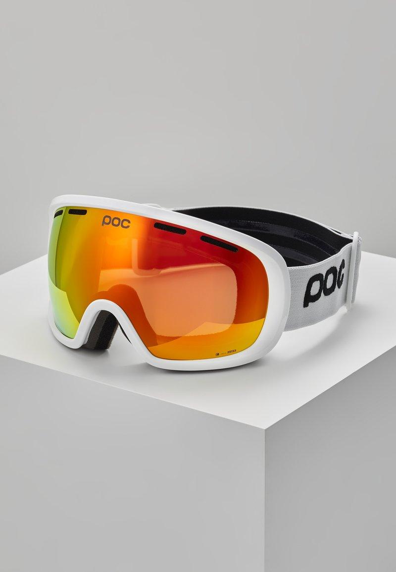 POC - FOVEA CLARITY - Masque de ski - hydrogen white/spektris orange