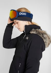 POC - FOVEA CLARITY - Masque de ski - lead blue/spektris orange - 3