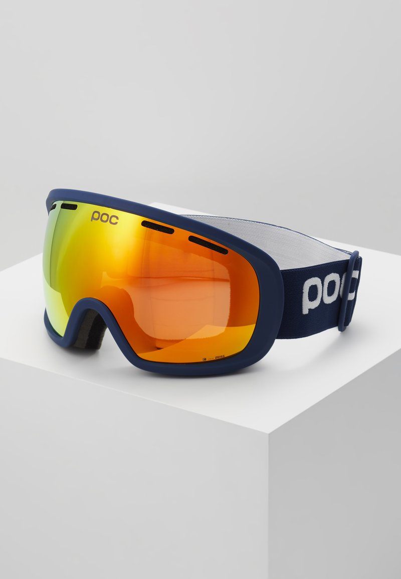 POC - FOVEA CLARITY - Masque de ski - lead blue/spektris orange